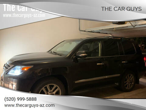 2013 Lexus LX 570 for sale at The Car Guys in Tucson AZ
