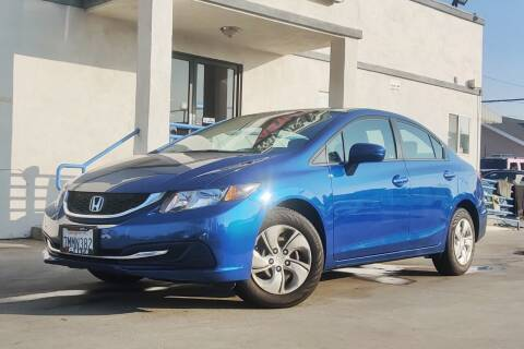 2015 Honda Civic for sale at Fastrack Auto Inc in Rosemead CA