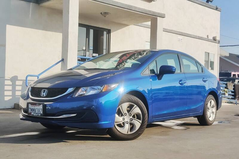 2015 Honda Civic for sale at Fastrack Auto Inc in Rosemead CA