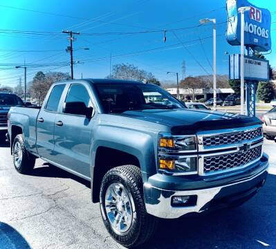 2014 Chevrolet Silverado 1500 for sale at RD Motors, Inc in Charlotte NC