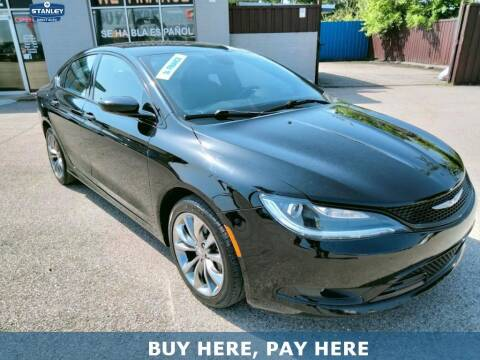 2015 Chrysler 200 for sale at Stanley Direct Auto in Mesquite TX
