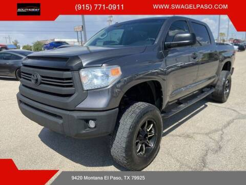2015 Toyota Tundra for sale at SOUTHWEST AUTO GROUP-EL PASO in El Paso TX