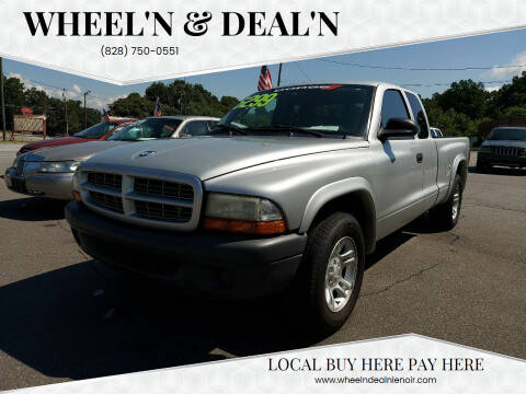 2004 Dodge Dakota for sale at Wheel'n & Deal'n in Lenoir NC