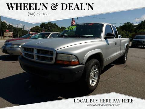 2004 Dodge Dakota for sale at Wheel'n & Deal'n in Lenoir NC