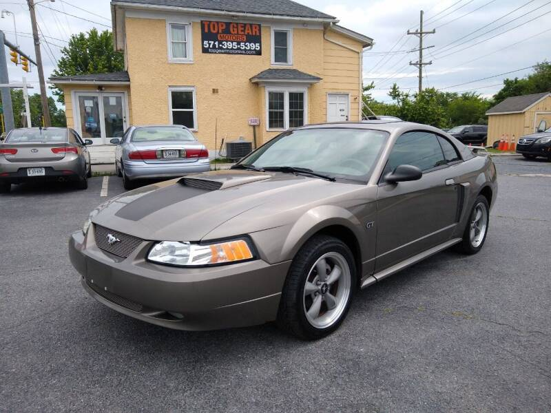 2002 Ford Mustang for sale at Top Gear Motors in Winchester VA