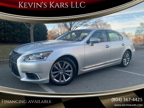 2015 Lexus LS 460 for sale at Kevin's Kars LLC in Richmond VA