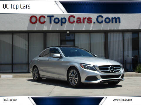 2015 Mercedes-Benz C-Class for sale at OC Top Cars in Irvine CA