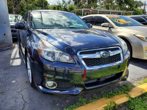 2014 Subaru Legacy for sale at America Auto Wholesale Inc in Miami FL