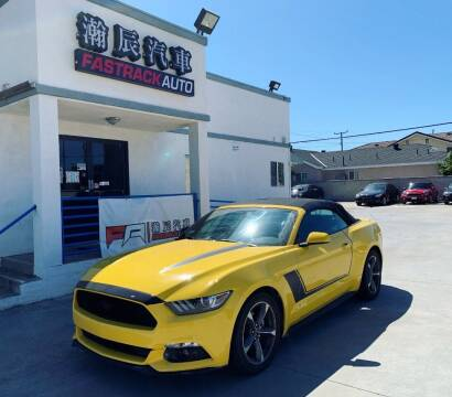 2015 Ford Mustang for sale at Fastrack Auto Inc in Rosemead CA