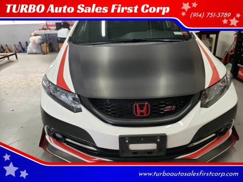 2013 Honda Civic for sale at TURBO Auto Sales First Corp in Yonkers NY