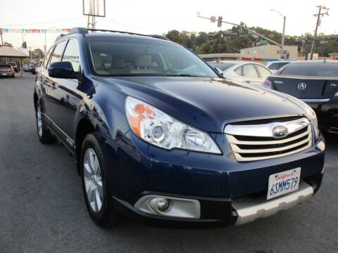 2011 Subaru Outback for sale at Car House in San Mateo CA