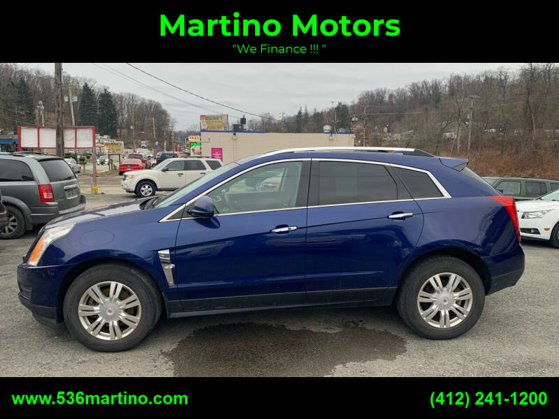 2012 Cadillac SRX for sale at Martino Motors in Pittsburgh PA