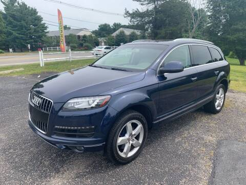 2014 Audi Q7 for sale at Lux Car Sales in South Easton MA