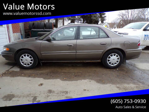 2002 Buick Century for sale at Value Motors in Watertown SD