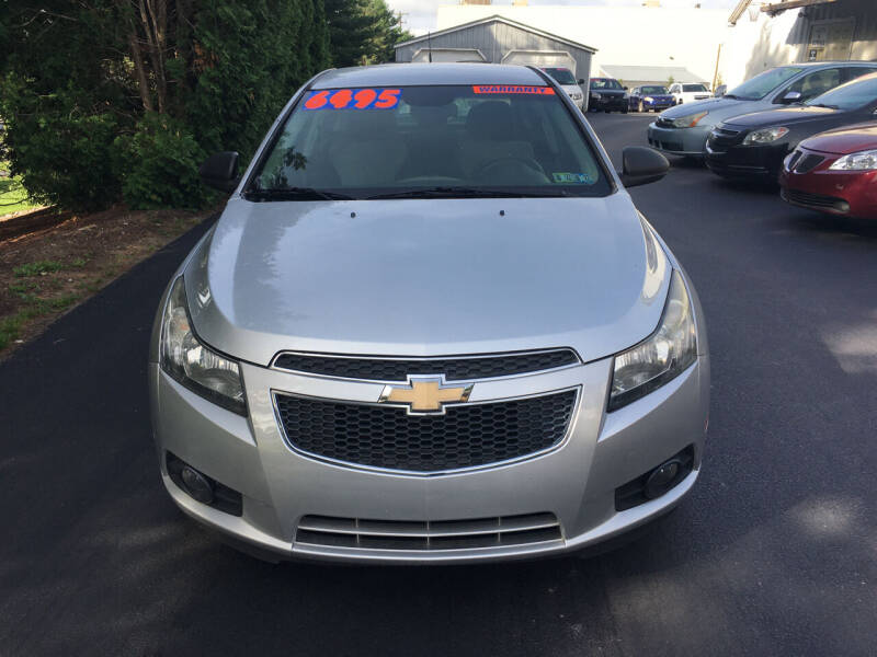 2011 Chevrolet Cruze for sale at BIRD'S AUTOMOTIVE & CUSTOMS in Ephrata PA