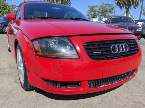 2002 Audi TT for sale at Convoy Motors LLC in National City CA