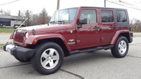 2008 Jeep Wrangler Unlimited for sale at Jan Auto Sales LLC in Parsippany NJ