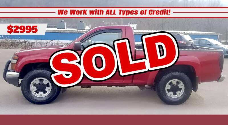 2005 GMC Canyon for sale at Steel River Auto in Bridgeport OH
