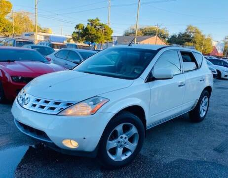 2004 Nissan Murano for sale at CHECK  AUTO INC. in Tampa FL