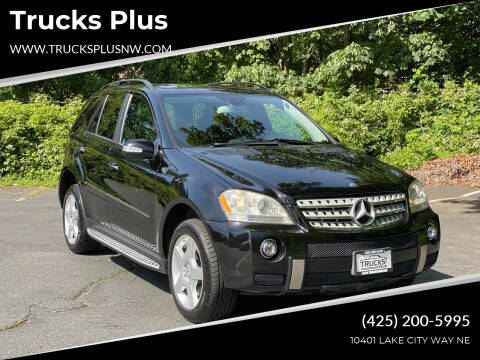 2008 Mercedes-Benz M-Class for sale at Trucks Plus in Seattle WA