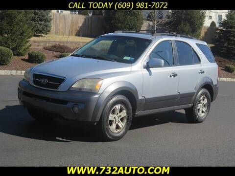 2006 Kia Sorento for sale at Absolute Auto Solutions in Hamilton NJ
