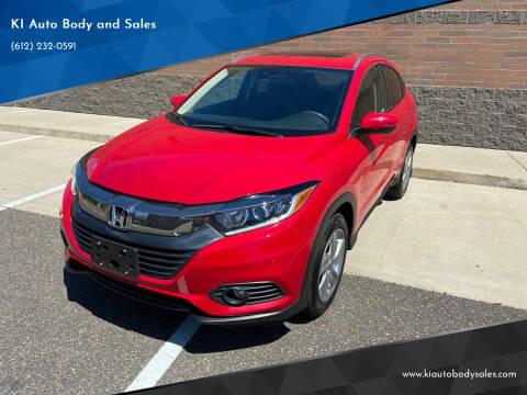 2020 Honda HR-V for sale at KI Auto Body and Sales in Lino Lakes MN