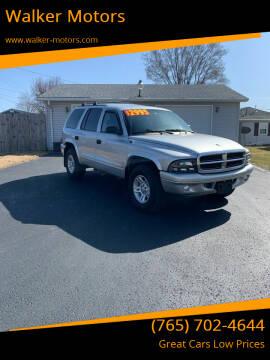 2003 Dodge Durango for sale at Walker Motors in Muncie IN