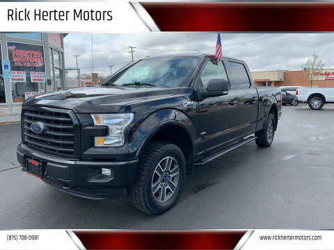 2015 Ford F-150 for sale at Rick Herter Motors in Loves Park IL