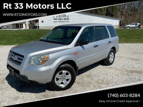 2006 Honda Pilot for sale at Rt 33 Motors LLC in Rockbridge OH