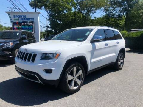2015 Jeep Grand Cherokee for sale at Sports & Imports in Pasadena MD