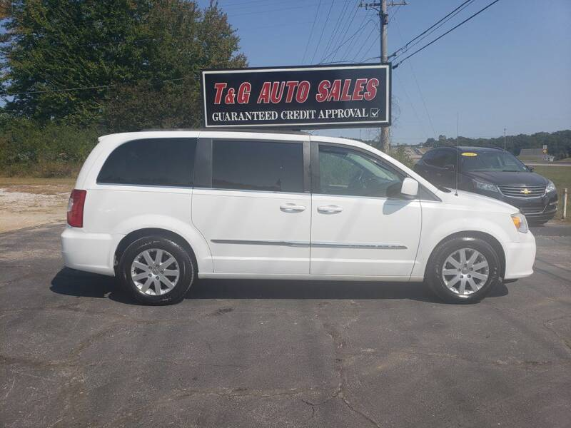 2014 Chrysler Town and Country for sale at T & G Auto Sales in Florence AL