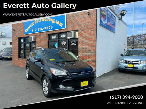 2016 Ford Escape for sale at Everett Auto Gallery in Everett MA
