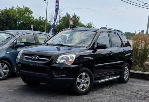 2009 Kia Sportage for sale at Budget City Auto Sales LLC in Racine WI