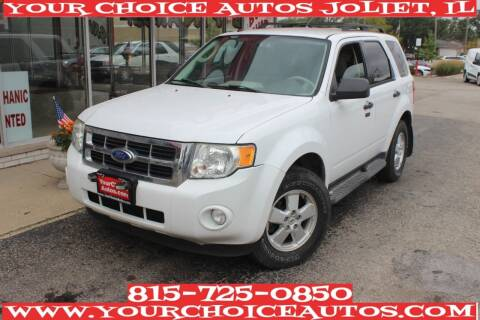 2011 Ford Escape for sale at Your Choice Autos - Joliet in Joliet IL