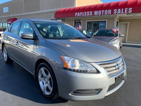 2013 Nissan Sentra for sale at Payless Motor Sales LLC in Burlington NC