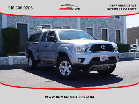 2014 Toyota Tacoma for sale at Armani Motors in Roseville CA