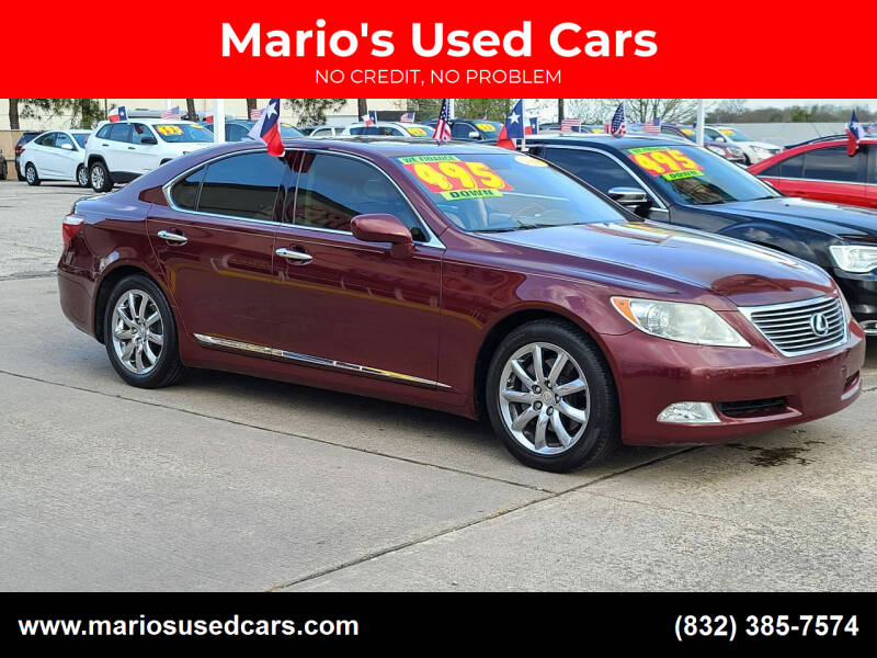 2008 Lexus LS 460 for sale at Mario's Used Cars in Houston TX