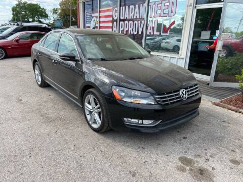 2012 Volkswagen Passat for sale at Lee Auto Group Tampa in Tampa FL