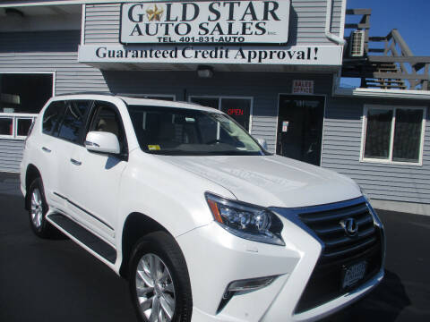 2017 Lexus GX 460 for sale at Gold Star Auto Sales in Johnston RI
