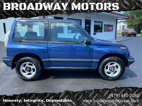1995 GEO Tracker for sale at BROADWAY MOTORS in Van Buren AR