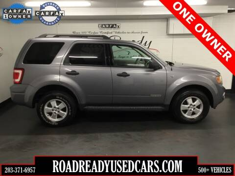 2008 Ford Escape for sale at Road Ready Used Cars in Ansonia CT