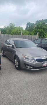 2013 Kia Optima for sale at Chicago Auto Exchange in South Chicago Heights IL