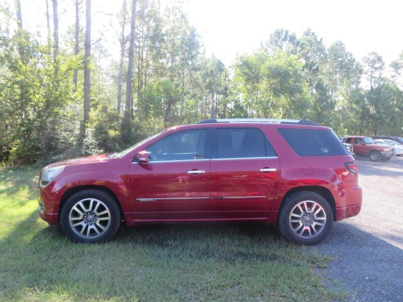 2014 GMC Acadia for sale at Ward's Motorsports in Pensacola FL