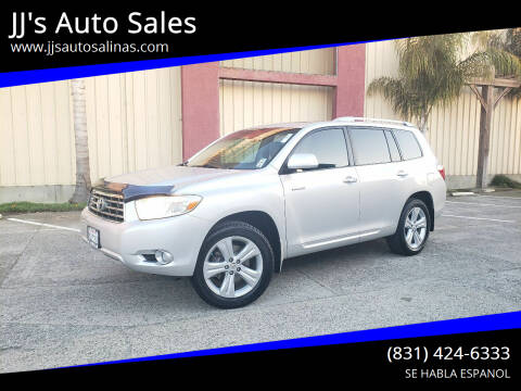 2008 Toyota Highlander for sale at JJ's Auto Sales in Salinas CA