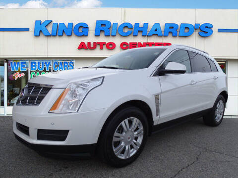 2012 Cadillac SRX for sale at KING RICHARDS AUTO CENTER in East Providence RI