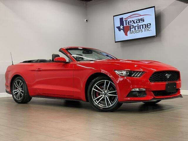 2017 Ford Mustang for sale at Texas Prime Motors in Houston TX