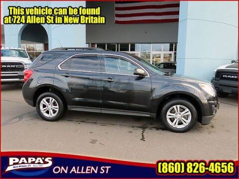 2013 Chevrolet Equinox for sale at Papas Chrysler Dodge Jeep Ram in New Britain CT