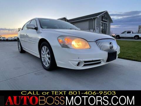 2010 Buick Lucerne for sale at Auto Boss in Woodscross UT