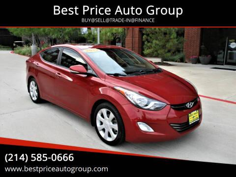 2013 Hyundai Elantra for sale at Best Price Auto Group in Mckinney TX