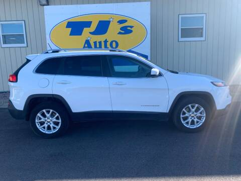 2015 Jeep Cherokee for sale at TJ's Auto in Wisconsin Rapids WI
